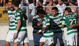A crónica do V. Guimarães-Sporting, 0-5: Parece que jogam juntos há 8 anos