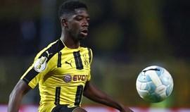 Borussia Dortmund responsabiliza Barcelona pela indisciplina de Dembélé