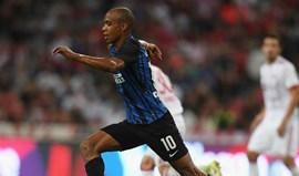 Inter Milão-Fiorentina, 2-0 (1.ª parte)