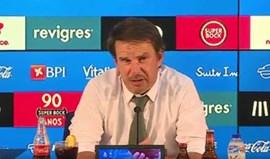 Manuel Machado: «Interessa o campeonato dos três, o resto é carne para canhão»