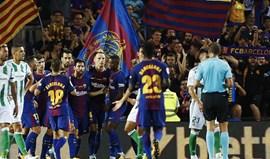 Barcelona com Nélson Semedo entra a vencer na Liga espanhola