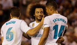 Real Madrid dominador entra a ganhar na Liga