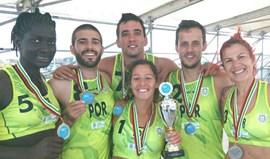 Corfebol de praia: Portugal é vice-campeão europeu