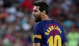 Man. City reuniu-se com representantes de Messi