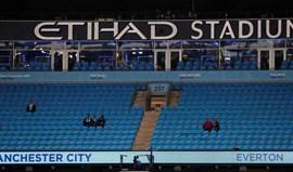 Manchester City-Everton, 0-0 (1.ª parte)