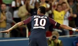 Neymar 'coloca' Guedes no Valencia