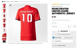 Adidas confirmou regresso de Ibrahimovic ao Man. United?