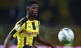 Borussia Dortmund faz ultimato ao Barcelona por Dembélé