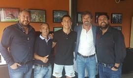 Tiago Dias já treinou em Milão