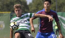 Sporting B-Cova da Piedade, 2-1: Reviravolta dá triunfo aos leões