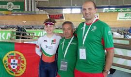 Maria Martins em quinto no scratch dos Mundiais em pista de juniores