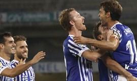 Real Sociedad abre a jornada com vitória sobre o Villarreal (3-0)