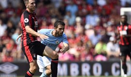 Bernardo Silva titular pela primeira vez na vitória do Manchester City