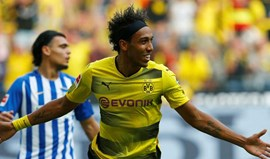 Borussia Dortmund vence no primeiro jogo sem Dembélé