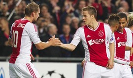 Siem de Jong está de volta ao Ajax