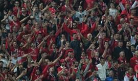 Benfica paga 4.020 euros por comportamento dos adeptos em Vila do Conde