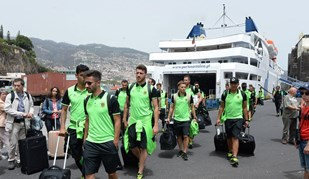 P. Ferreira chegou ao Funchal de barco