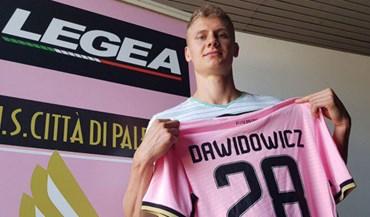 Palermo confirma chegada de Dawidowicz por empréstimo das águias