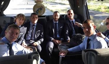 Real Madrid já está a caminho da Macedónia