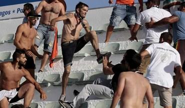 Confrontos nas bancadas entre adeptos do Boavista e Portimonense