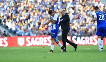 Soares deixou relvado em lágrimas