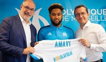 Jordan Amavi emprestado ao Marselha pelo Aston Villa