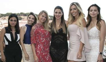 Mulheres dos craques do Benfica deslumbraram na festa de Magali