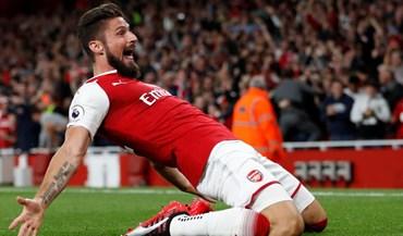 Premier League começa com muitos golos na vitória do Arsenal