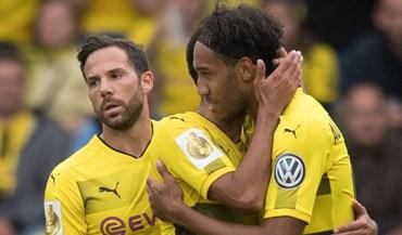 Borussia Dortmund inicia defesa da Taça com goleada