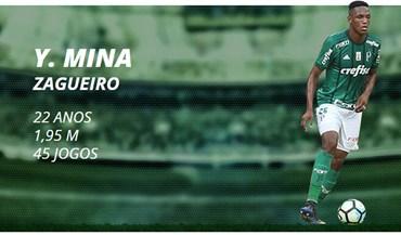 Yerry Mina vai reforçar o Barcelona
