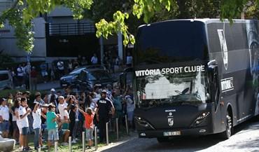 V. Guimarães e Sporting já chegaram ao Dom Afonso Henriques