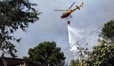 Parque de Campismo do Pião evacuado na sequência de fogo na Covilhã