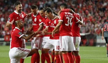 Benfica mantém-se como o melhor clube português no ranking da UEFA