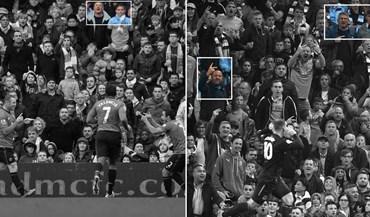 Quatro anos depois, Rooney continua a 'chatear' os mesmos adeptos... no mesmo sítio