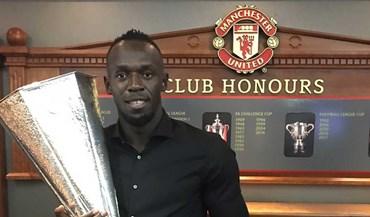 Old Trafford recebeu um visitante muito especial