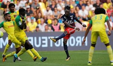 Lyon empata em Nantes e falha 'assalto' ao pódio
