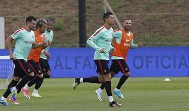 Bruno Fernandes já sabe como é treinar na Seleção Nacional