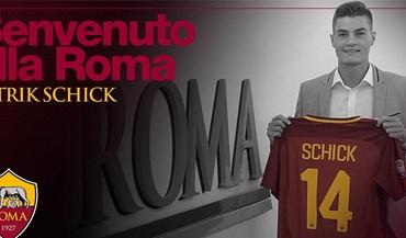 Roma oficializa Patrik Schick num negócio... invulgar