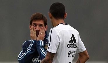 Messi já sabe o que Di María quer para esta época