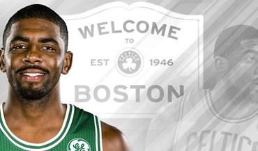 Oficial: Kyrie Irving é jogador dos Boston Celtics
