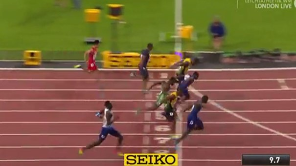 Atualidade: Dia da final dos 100 metros, Bolt procura o 'tetra