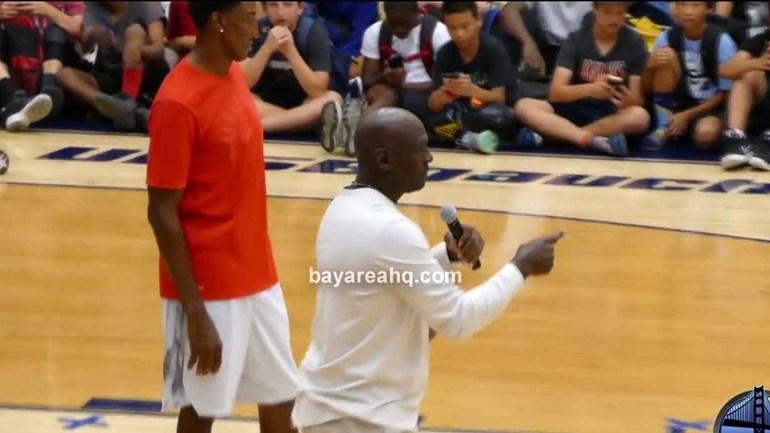 O sonho de todos os adeptos da NBA: Jordan e Pippen voltaram a jogar juntos