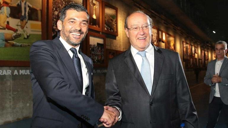 Pinto da Costa vai reunir com Conceição nos próximos dias