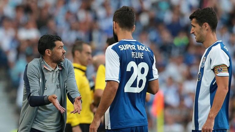 FC Porto e Gil Vicente empatados ao intervalo