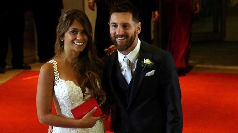 Convidados ganham milhões, mas deram 'tostões' no casamento de Messi
