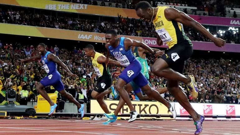 Usain Bolt perde a prova dos 100 metros na despedida