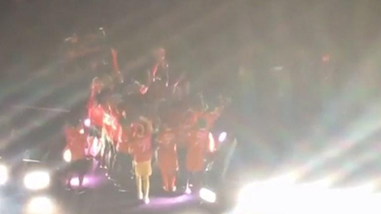 O momento em que o Benfica levantou a Supertaça em Aveiro