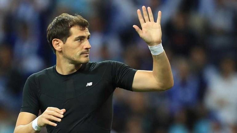 Casillas quis juntar-se a Fellaini