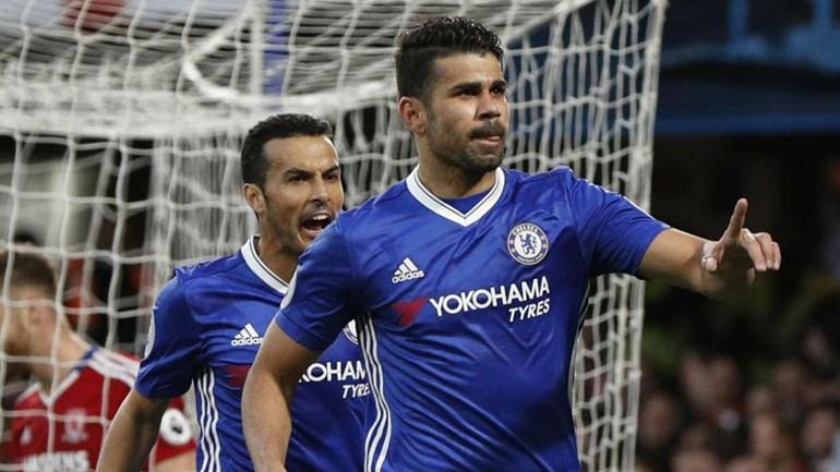 Chelsea: Diego Costa multado pelos blues em 300 mil euros