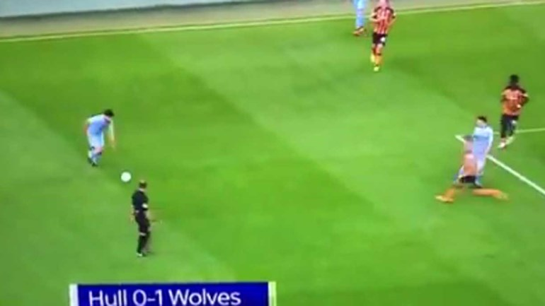 O golaço de Ruben Neves pelo Wolverhampton